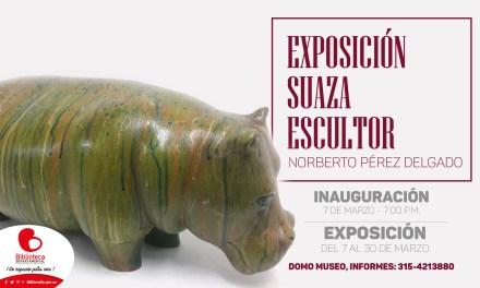Exposición Suaza Escultor en marzo