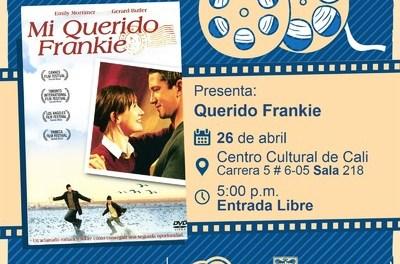 «Ciclo Infantil Película: Querido Frankie de Shona Auerbach Año:2005 Duración: 105 minutos Reino Unido » – Sala 218 – Centro Cultural de Cali