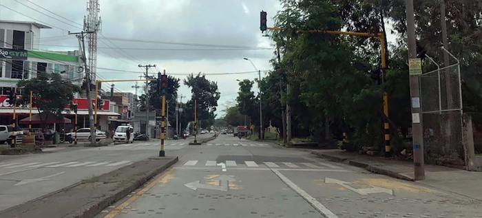 Se instaló nueva intersección semaforizada en la comuna cinco