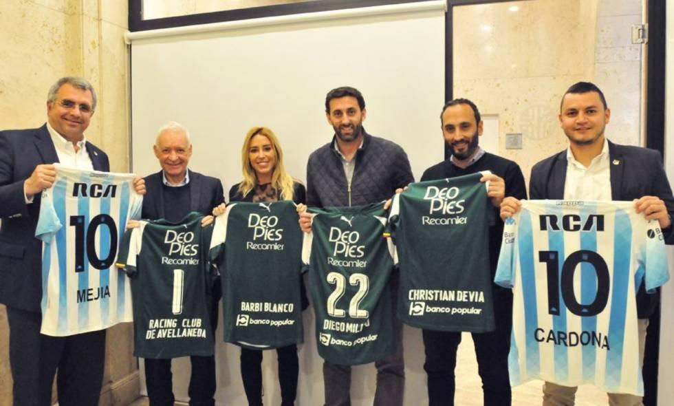 Deportivo Cali y Rácing de Argentina firmaron convenio de colaboración