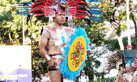 Ayer finalizó el XXV Encuentro Nacional e Internacional de Danzas Folclóricas Mercedes Montaño en la Loma de La Cruz.