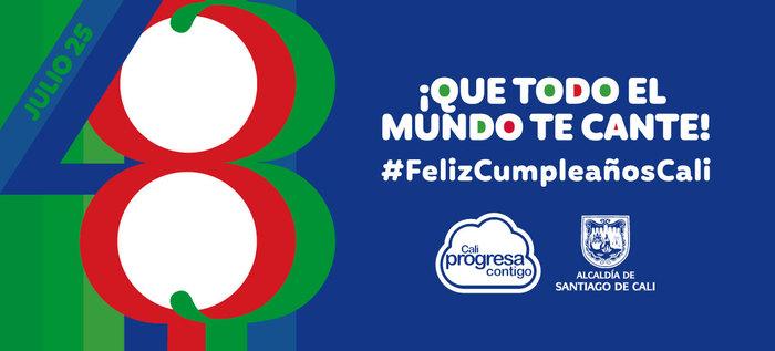 Con 27 eventos gratuitos celebraremos los 483 años de Santiago de Cali ¡Que todo el mundo te cante!