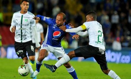 Deportivo Cali batalló pero sobre el final fue victoria 2-1 para Millonarios