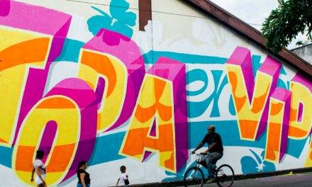 Los caleños le dijeron sí a la vida a través del color en el festival Graficalia