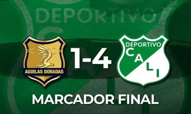 Deportivo Cali venció a Rionegro Águilas y queda prácticamente clasificado a los cuadrangulares de la Liga Águila 2019-II.