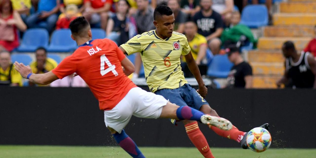 Colombia 0-0 Chile.