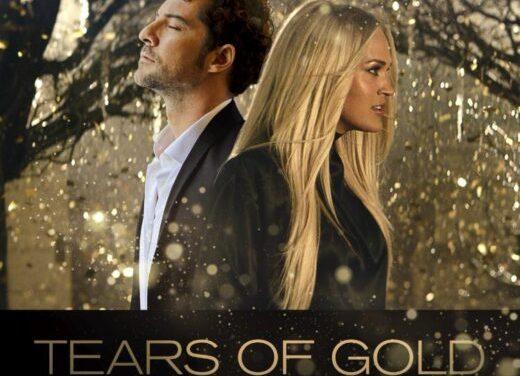 """LAS SÚPER ESTRELLAS INTERNACIONALES DAVID BISBAL Y CARRIE UNDERWOOD COMPARTEN EL PRECIOSO SINGLE """"TEARS OF GOLD"""""""