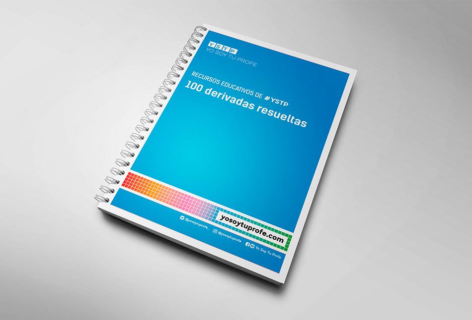 100 derivadas resueltas | Cuaderno de matemáticas