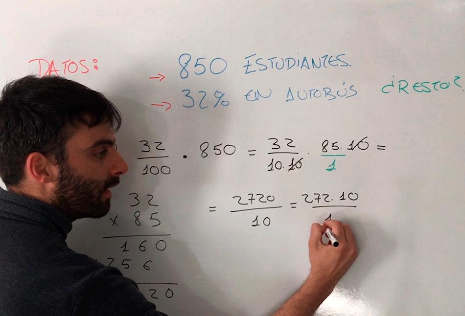 ¿Te animas a realizar estos problemas de porcentajes ?