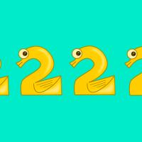 10 retos de operaciones divertidas. ¿Cómo obtenemos el resultado con cuatro 2?