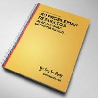 40 problemas de ecuaciones de primer grado resueltos