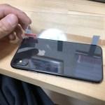 iPhone X/8/8Plusの背面保護にもガラスフィルムがおすすめ