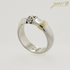 Decorative Silver & Gold Ring 2