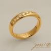 Contemporary Modern Diamond Ring 2
