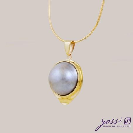 Classic Big Pearl Pendant 3