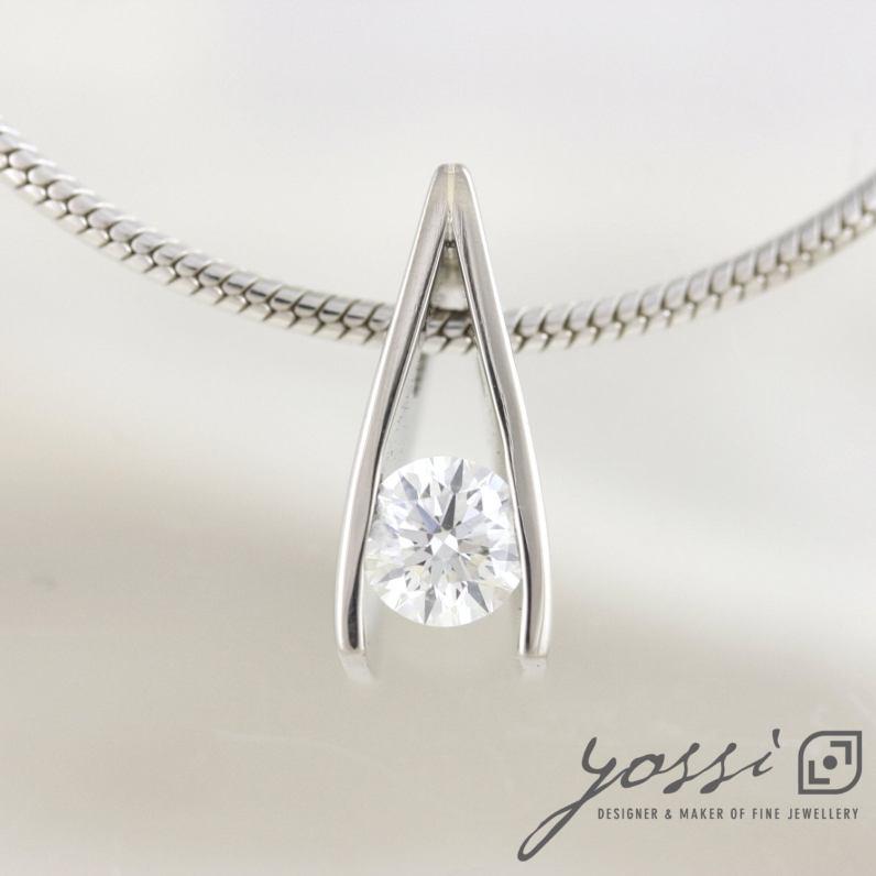 Brilliant Cut Diamond 0.50ct. Necklace