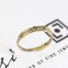 Infinity Friendship Ring | 18ct Yellow, White & Rose Gold 2