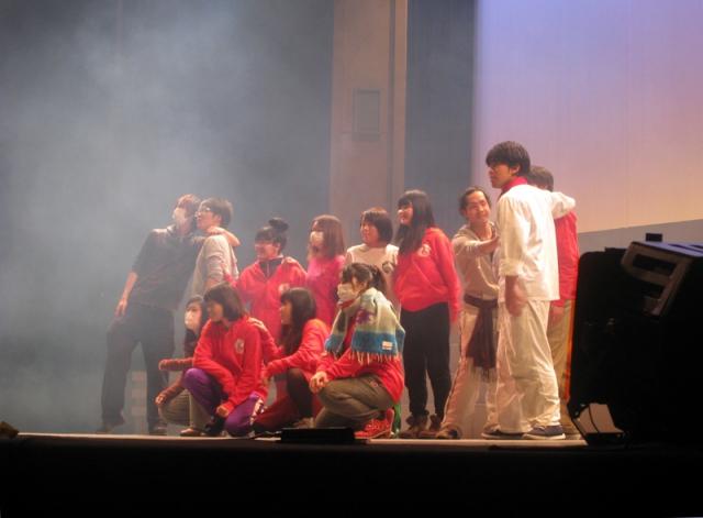 「あの空をこえて」再演稽古3