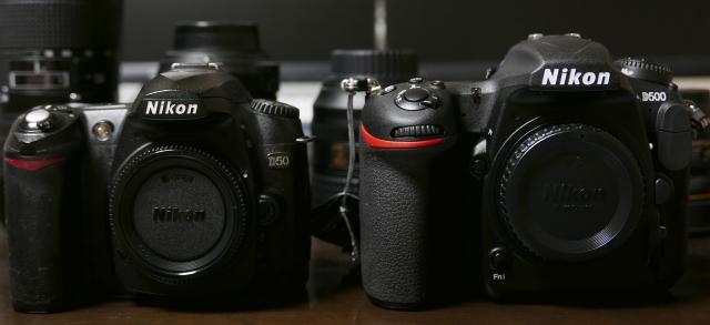 Nikon D50 & D500