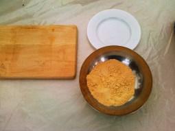 Waktu belajar buat rice cake