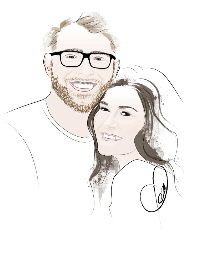Portrait_Illustration_Couple_Natalie
