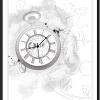 Illustration Taschenuhr