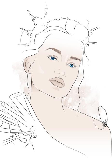 Beauty_Illustration_Natural_Makeup