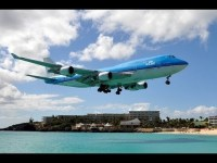 St.Maarten, Maho Beach, 2013 / 70 !!! very best Landing & Starts. Youtube Video