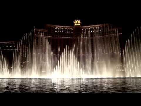 Bellagio Fountains – Las Vegas, USA, Video