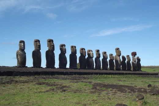 Rapa Nui National Park, Easter Island, Pacific