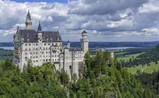 Castle Neuschwanstein, Bavaria, Germany