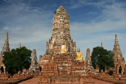 Wat Chaiwatthanaram, Ayutthaya, Thailand
