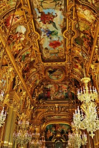 Opera Garnier, Grand Escalier, Paris, France