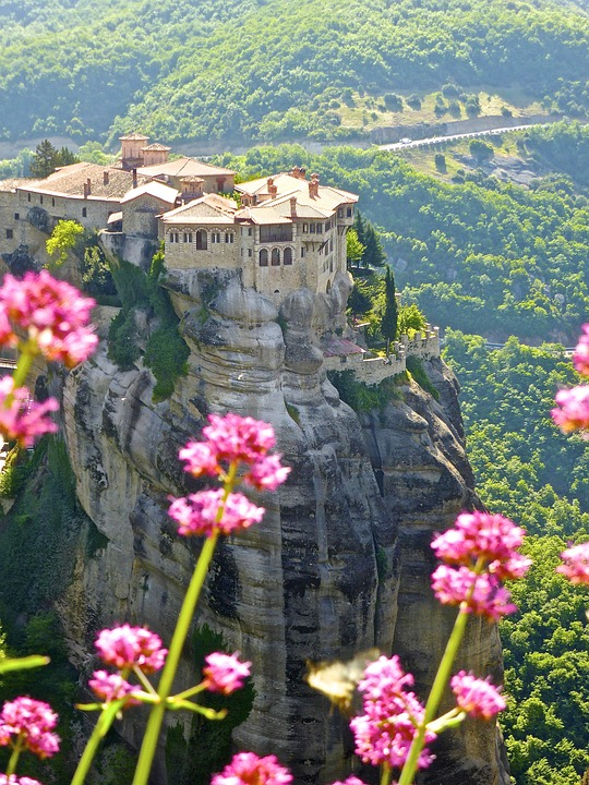 Metéora Monasteries, Thessaly, Greece