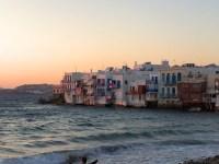 Little Venice of Mykonos Island, Greece