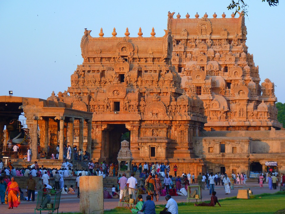 Brihadeshwara Temple, Thanjavur, Tamil Nadu, India
