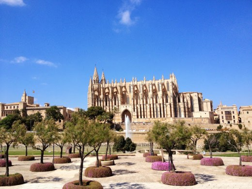 Cathedral La Seu, Palma, Majorca, Spain