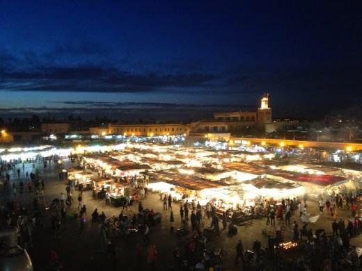 Jamaa el Fna, Marrakesh, Morocco