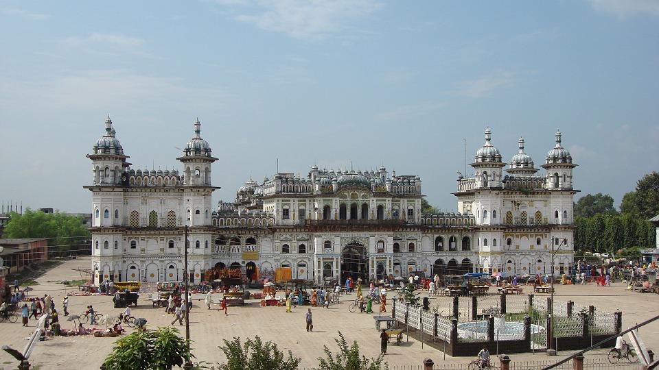 Janaki Mandir, Janakpur, Mithila, Nepal,