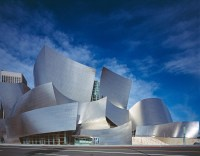 Walt Disney Concert Hall, Downtown of Los Angeles, California, USA