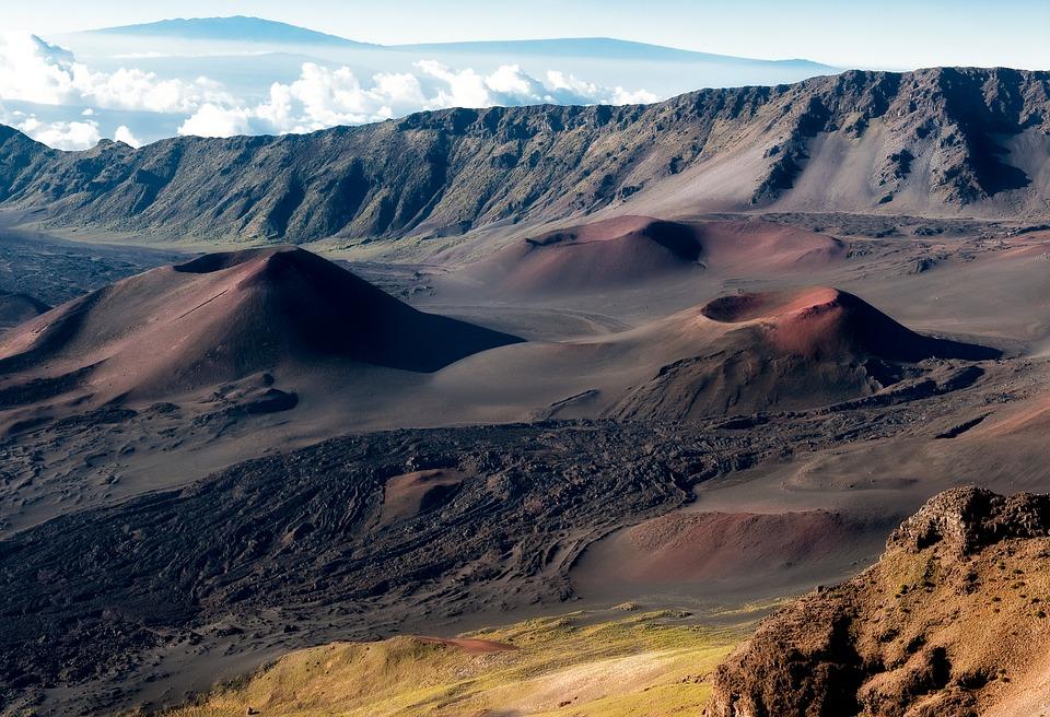 Haleakalā Volcano @ Hawaiian Island of Maui, USA