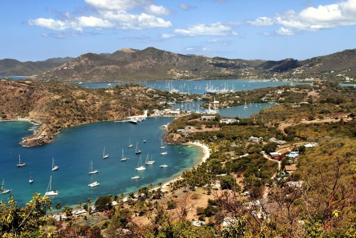 English Harbour, Antigua, Caribbean