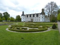 Neuhaus Castle in the Paderborn, Germany