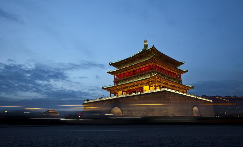 The Daming Palace, Xi'an, Shaanxi Province, China