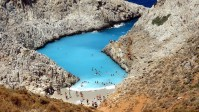 Seitan Limania Beac, Akrotiri, Crete, Greece