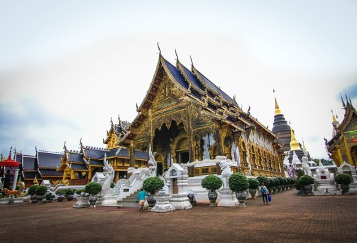 Wat Ban Den Temple North of Chiang Mai, Thailand