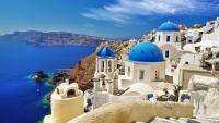 Ioa, Santorini,  Grece