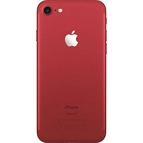 iPhone 7 red achterkant