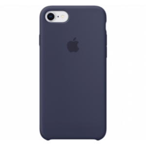 Apple iPhone 7/8 Silicone Cover Blauw