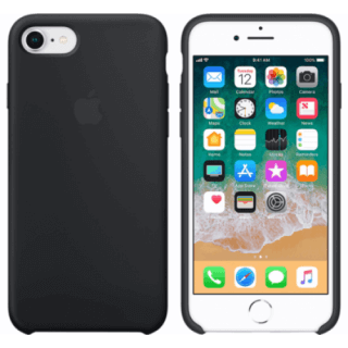 Iphone 7/8 Silicone Back/Front Case